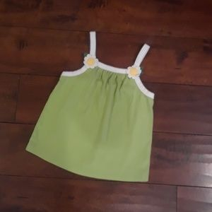 Gymboree girls Daisies Tank Top sz 5T